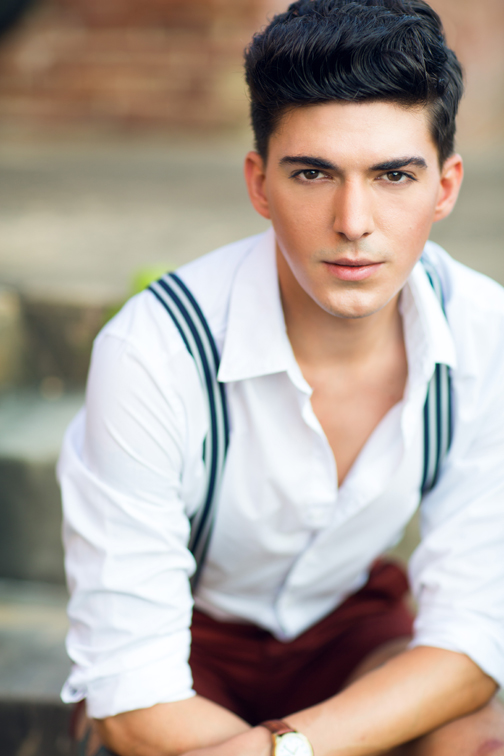 Male Model Portfolio Shoot | Maryland Fashion Photographer